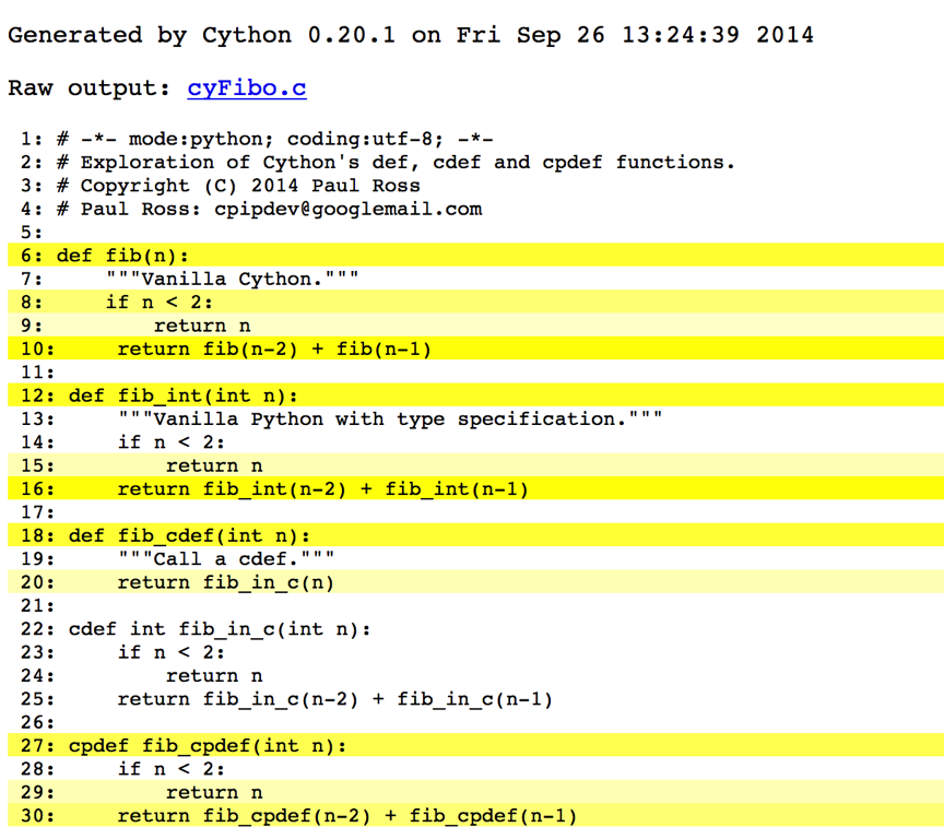 Miscellaneous Notes  U2014 Cython Def  Cdef And Cpdef Functions